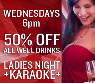 Ladies Night + Karaoke Wednesdays at Shelly's Lounge at Tortoise Rock Casino in Twentynine Palms