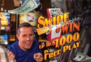 Swipe and Win - Every Monday!