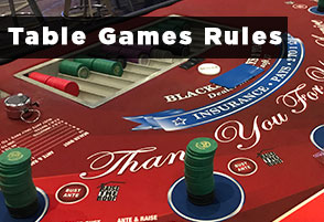 Table Games Rules